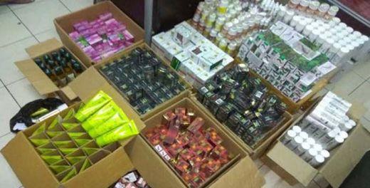 Ribuan Obat Ilegal Disembunyikan di Vihara