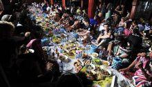 Seribu Orang Ikuti Makan Bajamba di Ulang Tahun Pasaman Barat