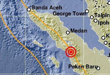 Sedang Sahur, Warga Sibolga Sumatera Utara Dikagetkan Gempa