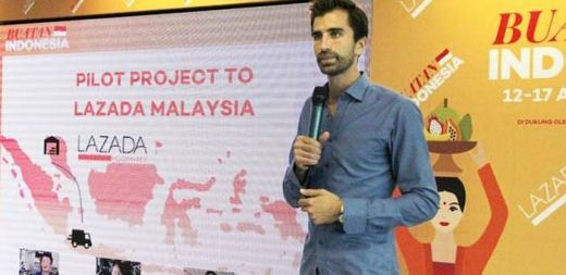 Berkebangsaan Jerman, Bos Lazada Group Ini Ingin Sekali Pelajari Bahasa Indonesia