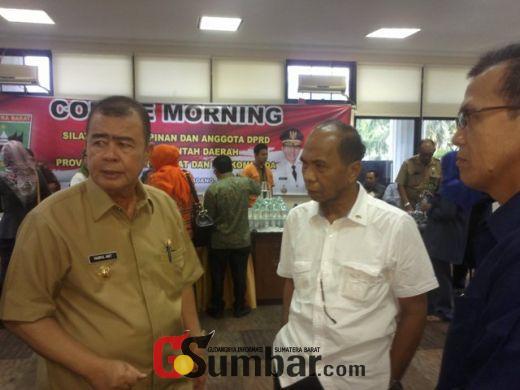Wagub Nasrul Abit Perintahkan, Hentikan Semua Pungutan di Masjid Raya Sumbar!