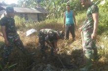 Berkah TMMD, TNI Bangun Toilet untuk Keluarga Anggianto
