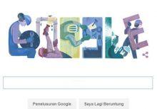 Doodle Google Hari Ini Juga Bertemakan Peringatan May Day