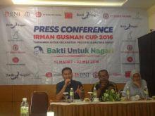 Gita Ariesta, Anak Muda Kreatif, Bekerja Dibelakang Hingar Bingar Turnamen Sepakbola Irman Gusman Cup