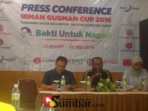 Ini Hasil Lengkap Babak Penyisihan Turnamen Sepakbola Irman Gusman Cup 2016