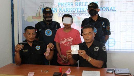 BNNK Pasaman Barat Tangkap Pengedar Sabu di Kampung Sudut