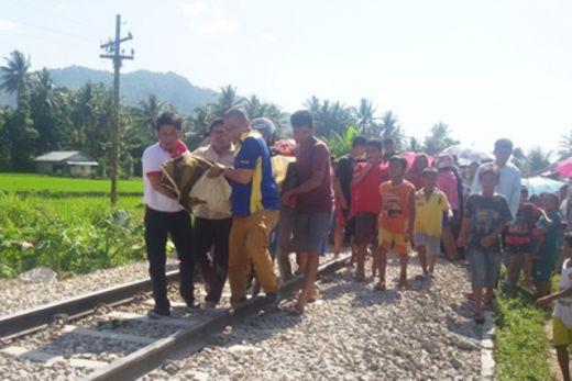 Ditabrak KA Pengangkut Semen, Seorang Ibu Meregang Nyawa di Padang