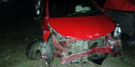 Dua Mobil Tabrakan di Sicincin, Seorang Pengemudi Tewas, Lima Orang Cidera