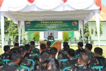 Berkunjung ke Kodim 0307/Tanah Datar, Pangdam I/Bukit Barisan: Prajurit Jauhi Narkoba!