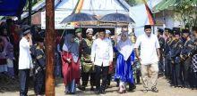 Alek Nagari dan Ziarah Rumah Gadang Nagari Tebing Tinggi Pulau Punjung Berlangsung Meriah