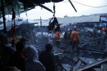 Data Terakhir, 18 Kios Ludes Terbakar di Pasar Padang Panjang dan Kerugian Belum Bisa Ditaksir