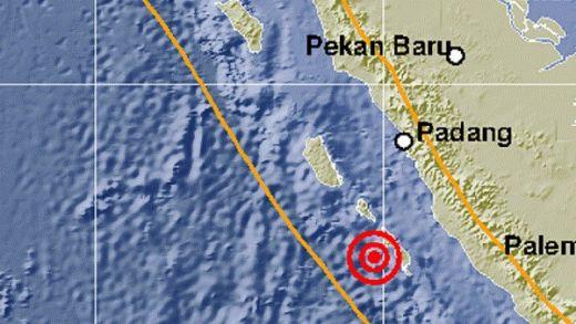 Gempa Mentawai Sabtu Kemarin Dekat Zona Megathrust, BMKG Minta Warga Sumbar Tingkatkan Kewaspadaan