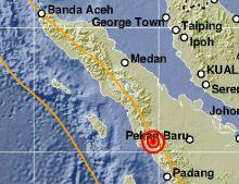 Giliran Kabupaten Pasaman Barat Digoyang Gempa Bumi Dangkal Sore Ini