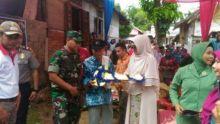 Dandim 0311/Pesisir Selatan Serahkan Rumah Bagi Veteran Pejuang