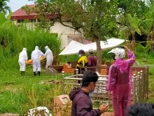 Menunggu Hasil Swab, Pemakaman PDP yang Meninggal di RSAM Bukittinggi Dilaksanakan dengan Standar Protokol Covid-19