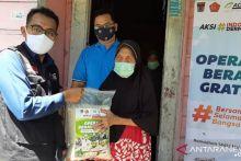 ACT Salurkan Bantuan 10 Ton Beras untuk Warga Padang