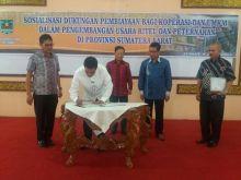 Kembangkan UMKM, LPDB-KUMKM Kerjasama dengan PT Grafika dan Bank Nagari Sumatera Barat