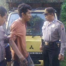 Truk Terjebak Lumpur, Warga Curiga, Akhirnya Komplotan Pencuri Ternak Sumbar-Riau Ditangkap Polisi di Pulau Punjung