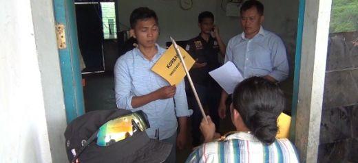 Polres Dharmasraya Rekonstruksi Kasus Istri Kampak Suami hingga Tewas