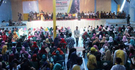 Gerakan Ikrar Seribu Relawan Zulhendri Hasan Dideklarasikan di Dharmasraya