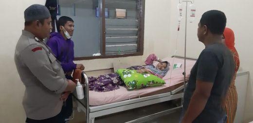 Dengar Warga Butuh Darah, Bhabin Kamtibmas Nagari Sungai Duo Polsek Sitiung I Langsung Turun Tangan untuk Donor