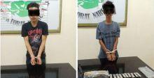 Simpan Ganja di Jok Motor, Dua Pemuda Ditangkap Polisi di Lubuk Basung