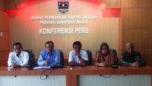 Komisi I DPRD Sumbar Belum Bentuk Pansus
