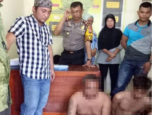 Curi Tas Pemudik yang Sedang Shalat Subuh, Dua Pelaku Ditangkap Polres Dharmasraya