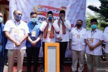 Mulyadi-Indra Catri Kompak di KPU Tanah Datar