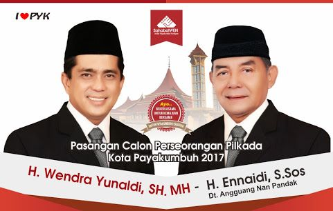 Wendra Yunaldi ~ Ennaidi Bertekad Mewujudkan Segi Tiga Emas Kota Payakumbuh