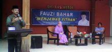 Dihadapan Ratusan Warga di Bukittinggi, Fauzi Bahar Jawab Fitnah dengan Terimakasih