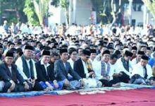 Presiden Jokowi Shalat Ied Fitri di Padang, Gubernur Sumbar Berpantun Gembira, Begini Bunyinya