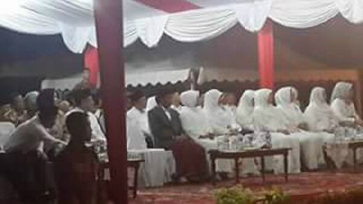 Kehadiran Jokowi Jadikan Pawai Takbiran di Padang Istimewa