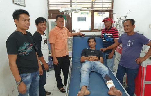 Pelaku Curanmor di Dharmasraya, Ditembak di Pasar Bawah Pekanbaru