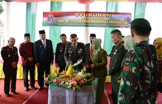 Dandim Bagus Tri Kuntjoro: TNI Kuat Bersama Rakyat