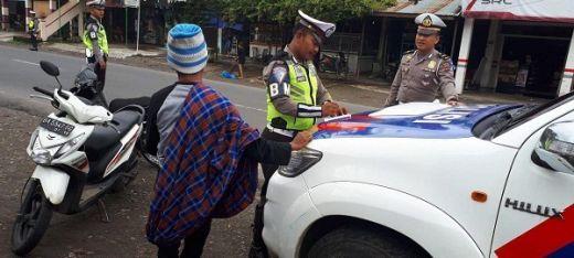 Sepekan Operasi Zebra, Satlantas Polres Pasbar Tindak 400 Pelanggaran