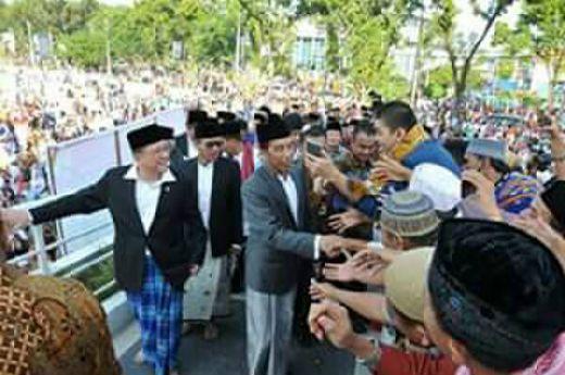 Tiga Hari di Padang, Presiden Jokowi Terkesan Melihat Keramahtamahan Masyarakat Minang