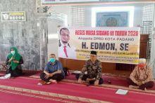 Anggota DPRD Padang Jadikan Reses Sebagai Arena Sosialisasi COVID-19