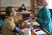 Ratusan Nakes di Padang Panjang Sudah Divaksinasi Covid-19 Tahap Pertama