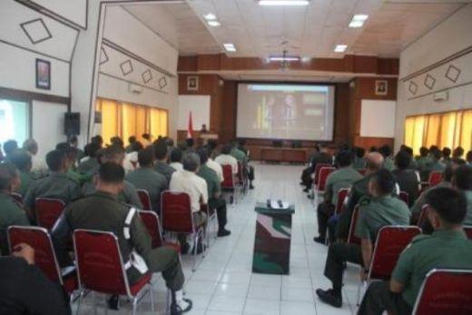 Antisipasi Pelanggaran, Kodam I/Bukit Barisan Berikan Penyuluhan Hukum di Makorem 032/Wirabraja