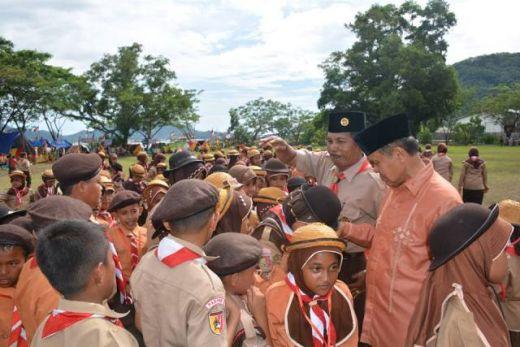 Wawako Padang Tutup Lt 2 Pramuka Kwarran Bungtekab