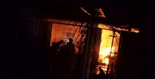 Satu Rumah Terbakar di Agam, Seorang Kakek Terluka Parah