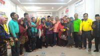 Perantau Gebu Minang Jatim Kunjungi Posko Cawako Independen Bukittinggi