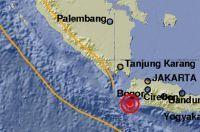 Pandeglang Banten Digoyang Gempa 5,6 SR
