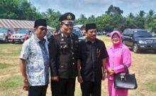 Hadiri Peringatan HUT ke-70 RI di Kapur Sembilan, Azwar Chesputra Teteskan Air Mata
