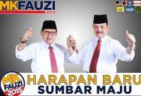 Sabtu ini Dzikir dan Kampanye Akbar MK-Fauzi di Lapangan Imam Bonjol Padang