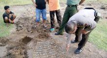 615 Peluru Ditemukan Terkubur di Lapangan Bola Pasir Jambak Padang