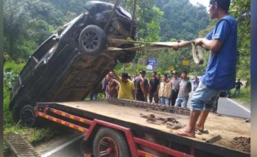Dalam Sepekan, 2 Mobil Terjungkal di Palupuah Agam