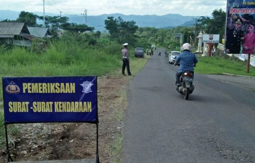 Operasi Patuh Singgalang 2018, Polres Mentawai Sita 85 Unit Motor
