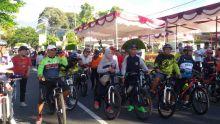 Meriahkan TdS, Ratusan Warga Padang Panjang Ikuti Fun Bike